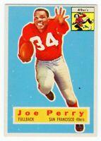1956 Topps #110 Joe Perry San Francisco 49ers Hall of Fame Near Mint NM