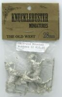 Knuckleduster OW28-214 Mounted Robbers II (The Old West) Bandits Outlaws Gunmen