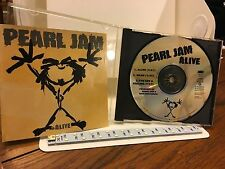 PEARL JAM  CD  3 Track Promo ALIVE 1991 WITH I GOT A FEELING MINT