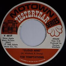 THE TEMPTATIONS: Cloud Nine / Runaway Child MOTOWN Soul 45 Super NM