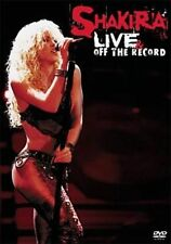 Live & off Record 0074645849997 With Shakira DVD Region 1