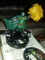Dr. DOOM w/Doombots & Dooms Castle Map Fantastic Four Heroclix Set