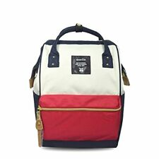 Anello Polyester canvas Unisex Mini Backpack AT-B0193 Tricolor Authentic Japan