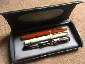 3 Parker DUOFOLD Fountain pens