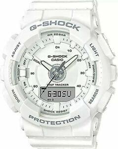 Casio Men's G-Shock S-Series WhiteTracker Watch GMAS130-7A