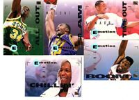 1994-95 SKYBOX NBA BASKETBALL LOT OF 11 DIFFERENT CARDS