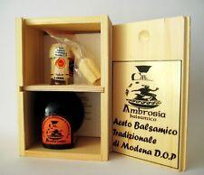 Aceto Balsamico Tradizionale Modena DOP - Confezione Legno + tappo dosatore