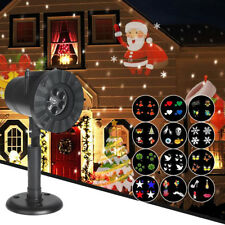 Outdoor LED Moving Laser Projector Light Landscape Xmas Garden Halloween Party