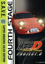 Initial D: Stage 4 - S.A.V.E. [New DVD] Boxed Set