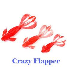 Lure Bait Mold Crazy Flapper Moule Giesform fur Gummikoder 1,5-4,4 inch