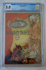 CLASSICS ILLUSTRATED COMICS #8 ARABIAN NIGHTS 2/43 1ST ED CGC 5.0