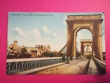 CPA ANCIENNE - Avignon - Pont suspendu
