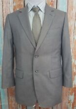 GUCCI Size 50 (40R US) 2 Button Grey Polyester Blend Mens Single Breasted Blazer