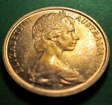 1966 Australia 1c One Cent ** ERROR DELAMINATIONS ** #ED011 =HIGH GRADE=