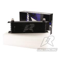 LINESRACING 7 Row AN10 oil cooler for Janpan car/ 10AN engine oil cooler black