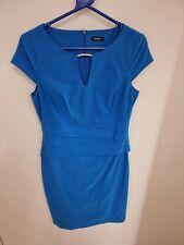 Ladies Roman Blue Dress Size 14