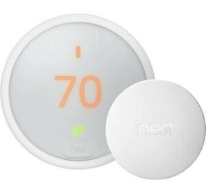 Nest Thermostat E T4001ES Programmable Thermostat - White (Nest Pro Edition)