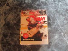 patrick roy  (montreal canadians-goalie) 1991/92 pro set card #125 nr/mint