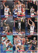 1993-94 UPPER DECK SE USA TRADE SET (24CT): MICHAEL JORDAN/BIRD/MAGIC/SHAQ/EWING