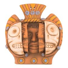 Ceramic Triple Mask Ceramic figure - Hand Made in Mexico - Aztec Mayan