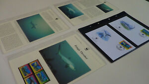 2002  Tokelau WWF stamps and first day covers with pelagic thresher information.