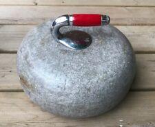 Vintage Scottish GRANITE Curling Stone Rock  Olympic Sport Antique!