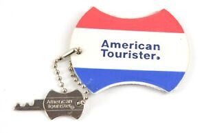 American Tourister luggage tag & Key
