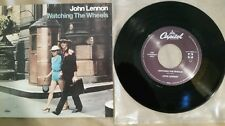 "John Lennon record store day 7""45RPM ""Watching The Wheels"", Mint, RSD, OOP"