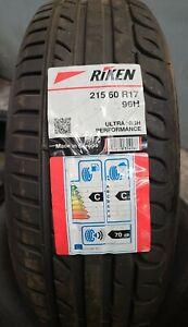 Riken Ultra High Performance - 215/60 R17 96H New Tyre