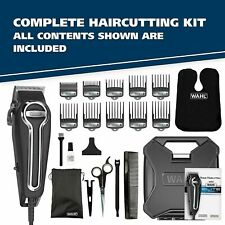 Wahl Clipper Elite Pro High-Performance Home Haircut & Grooming Kit Model 79602