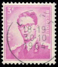 "BELGIUM 455 (Mi1127)  - King Baudouin ""1958 Pale Lilac Rose"" (pf30924)"