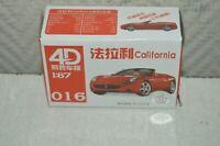 MAQUETTE VOITURE 4D FERRARI CALIFORNIA 016 NEUF BOITE CAR/AUTO HO 1/87