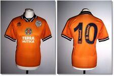 Valencia 1998/1999 Away Player Issue Shirt #10 Luanvi Camiseta Rare
