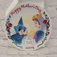 Disney Mother's Day 2004 Sleeping Beauty Princess Aurora Plate