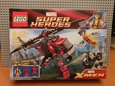 LEGO MARVEL SUPER HEROES 6866 Wolverine's Chopper Showdown/BNIB✔NEW SEALED RARE✔