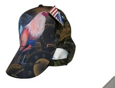 Chicken Rooster #2 Camo Camouflage Printed Baseball Premium Quality Cap Hat