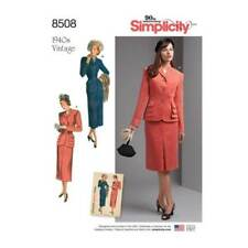 Simplicity Suit Sewing Patterns