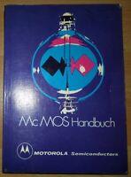 McMOS 1975 Handbuch Computer alt Motorola Schaltbilder Halbleiter analog CMOS