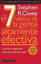 Los 7 Hábitos de la Gente Altamente Efectiva by Stephen R. Covey (2012, Paperbac