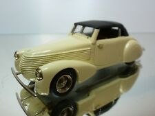 FUT MODELS ALFA ROMEO C2300 1937 - CREAM 1:43 - EXCELLENT - 33