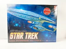 CLEAR Molded Edition Star Trek USS ENTERPRISE NCC-1701-D Model Kit SEALED AMT L2