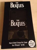 The Beatles Iphone Case 4/4s Sleek Black Hard Shell Cell Phone Case New!