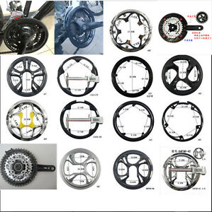 Bicycle Bike 36/40/42/44/46/48/52T Sprocket Cranksets Chainring Guard Protector