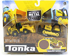 Tonka Metal Movers Combo Pack Mighty Dump & Front End Loader, Dumper Truck Toy 3