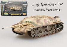 WW2 Jagdpanzer IV German Tank destroyer western front 1945 1:72 Easy Model