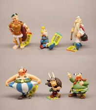 lot 6 plastoy ASTERIX & OBELIX FIGURES KID FIGURINES TOY Cute figure set