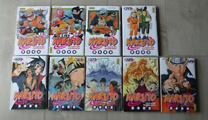 Lot - Manga Naruto - 9 livres -