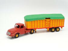 Dinky Toys boîte repro 36 B tracteur willeme et semi remorque bâchée