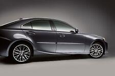 Lexus IS350 IS200T (2016-2017) OEM BODY SIDE MOLDINGS SET (Eminent White) (085)
