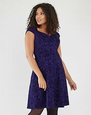 Joe Browns Effortlessly Dress Blue Size UK 18 Lf172 JJ 01